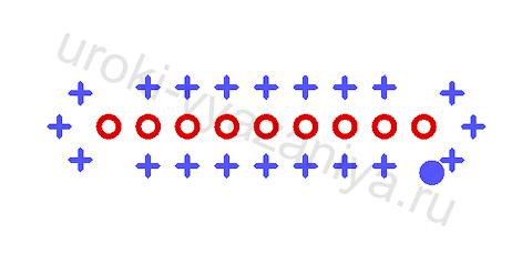 чехол для телефона крючком схема