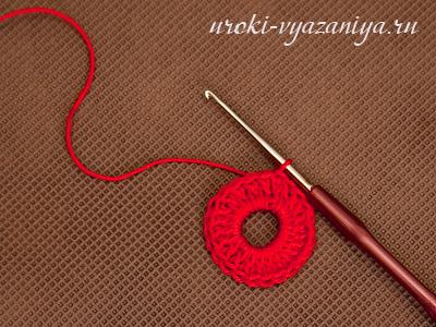 Мастер класс: Вязание крючком. Шкатулка.