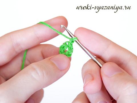 вязание по кругу крючком