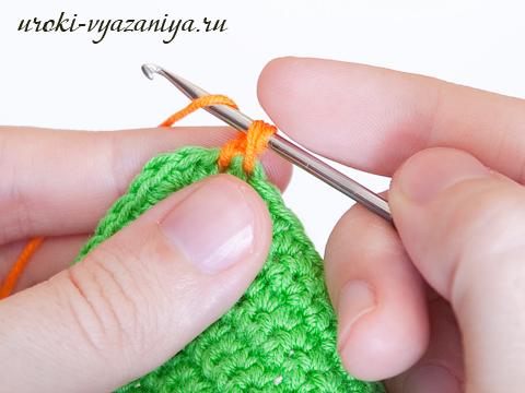 вязание крючком рачий шаг