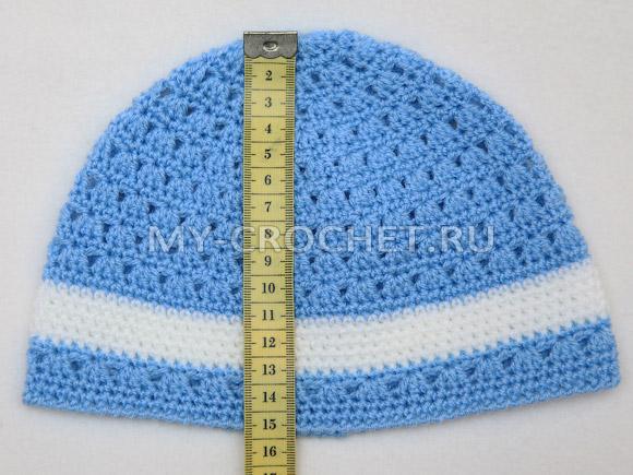 шапка для девочки крючком