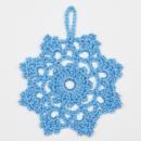 снежинка крючком