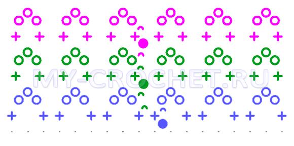 пинетки сапожки крючком схема