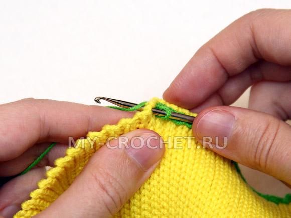 юбка для девочки крючком